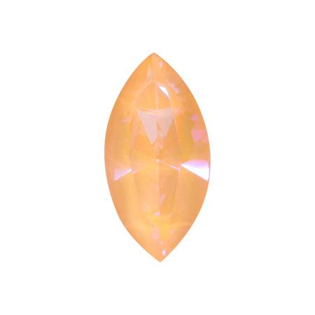스와로브스키 #4228 크리스탈 피치딜라이트 나벳 10mm x 5mm 2P