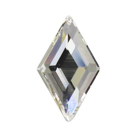 스와로브스키 #2773 다이아몬드 크리스탈 9.9 x 5.9mm 2P