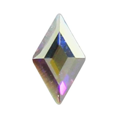 스와로브스키 #2773 다이아몬드 크리스탈AB(오로라) 5 x 3mm 4P