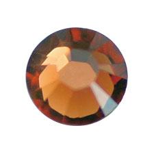 스와로브스키 플랫백 #2058 스모크토파즈 SS9 72P