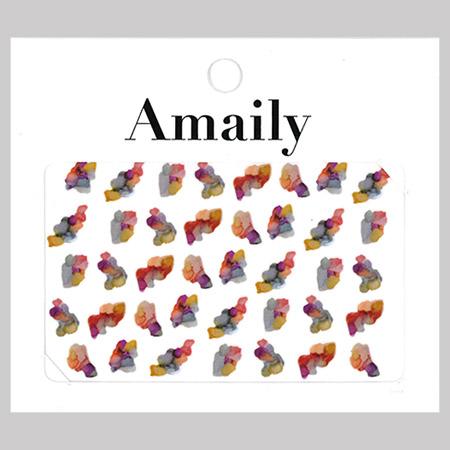 Amaily 네일 스티커 NO.5-37 잉크아트
