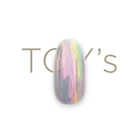 TOY's × INITY 드림파우더 T-DR06 메탈핑크
