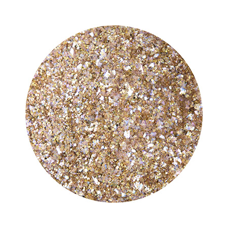 샤레도와 Veli glitter Satin gold
