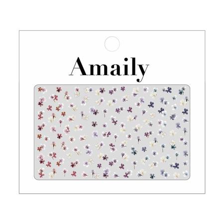 Amaily 네일씰 No.1-28 압화(押し花) MIX