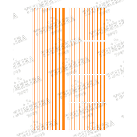 츠메키라 es 네온라인 네온오렌지 ES-NLI-102