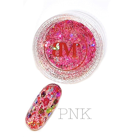 베이비 미라지 PRIZM holic MIX 글리터 PNK 핑크