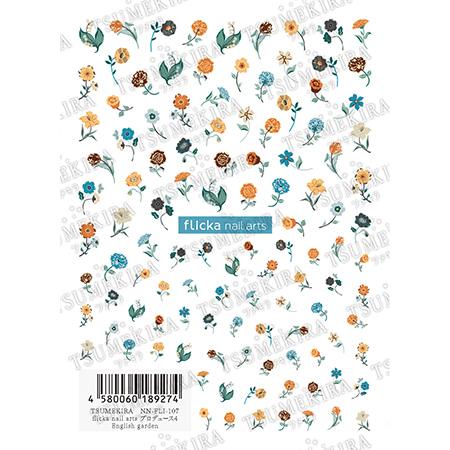 츠메키라 flicka nail arts 프로듀스4 English garden NN-FLI-107